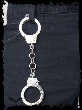 Mini Handschellen mit Inschrift