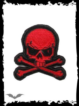 Red Skull - Totenkopf Aufnäher