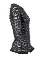 Gothic Langarmshirt, teilweise durchsichtig – Bild 4
