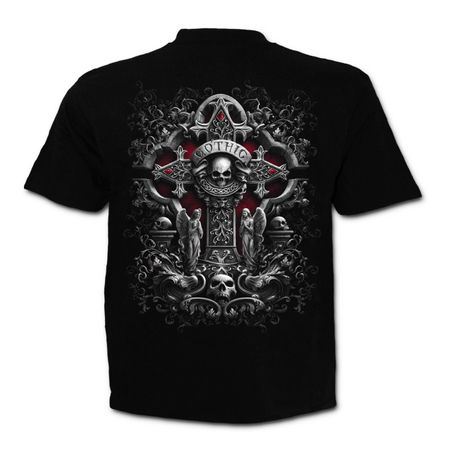 In Goth We Trust - Gothic-Shirt von Spiral – Bild 2