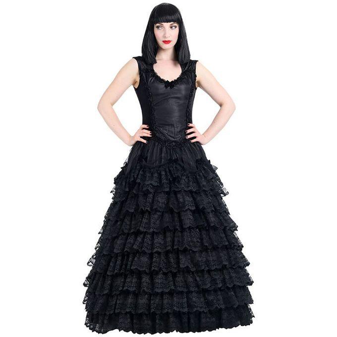 langes Vampire Prom Gothic Kleid