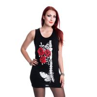 Faithless Top, Longshirt mit Print – Bild 1