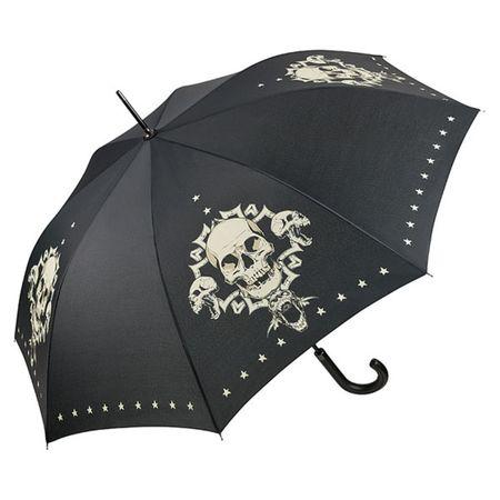 Skull Regenschirm, Seitenansicht