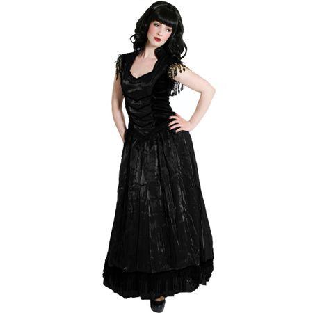 schwarzes langes kleid gothic dein neuer kleiderfotoblog. Black Bedroom Furniture Sets. Home Design Ideas