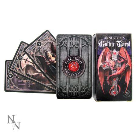 GOTHIC TAROT: Tarot Karten mit Illustrationen von Anne Stokes