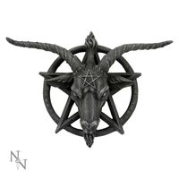 WALL PLAQUE Baphomet Wandrelief