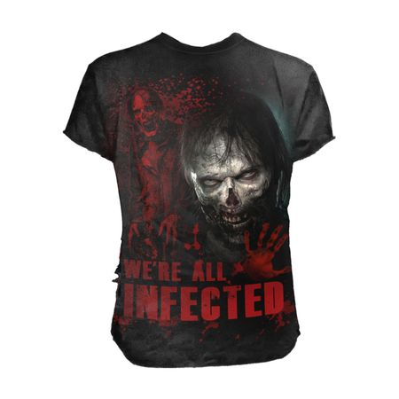 The Walking Dead - Zombie - We're All Infected - das Shirt zu Deiner Lieblingsserie