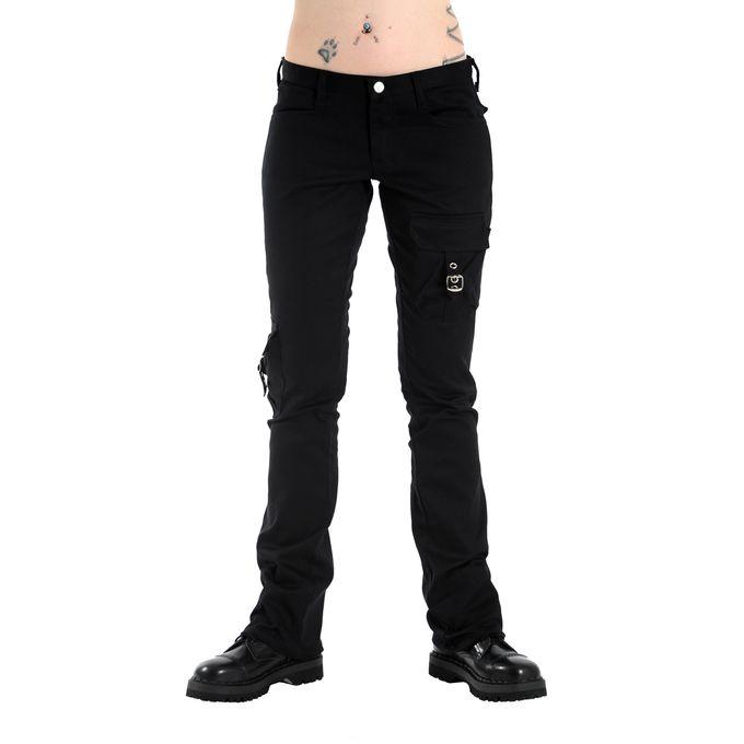 Hipster Denim - schwarze Hose