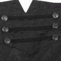 VAMPYR TROUSERS: schwarze Herrenhose – Bild 4
