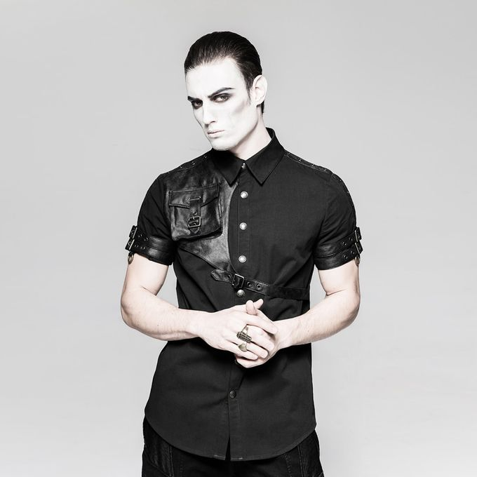 AVIATOR men's shirt: Gothic Hemd