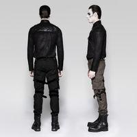 TAURUS SHIRT: Military Hemd in Kunstlederoptik – Bild 2