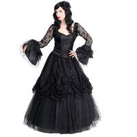 PERFEKT ROSE: romantischer Gothic Tüllrock mit viel Spitze und vielen romantischen Röschen