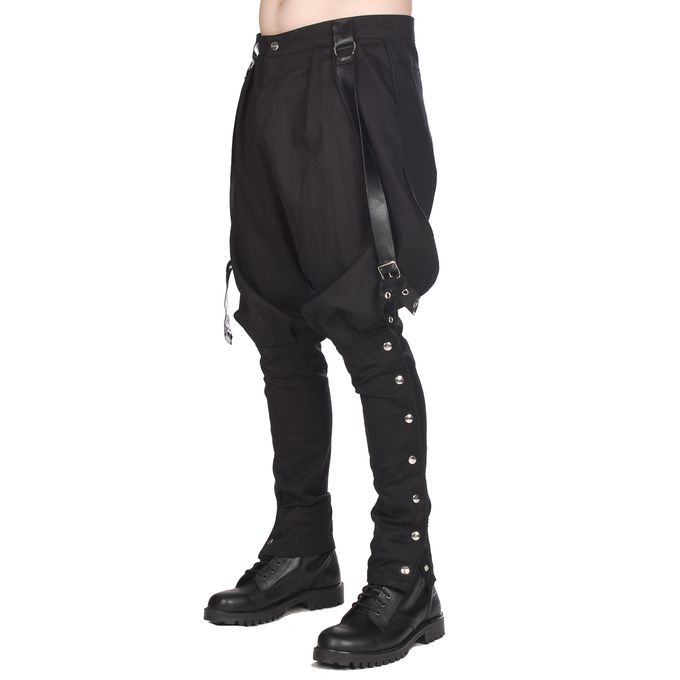 Military Pants im Reiterhosen Design