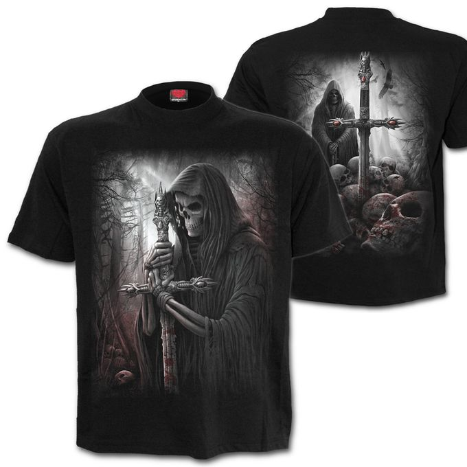 Plus Size - SOUL SEARCHER: beidseitig bedrucktes T-Shirt