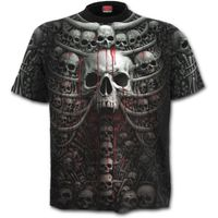 Plus Size - DEATH RIBS: All Over T-Shirt – Bild 2