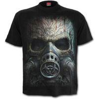 BIO SKULL: beidseitig bedrucktes T-Shirt – Bild 2