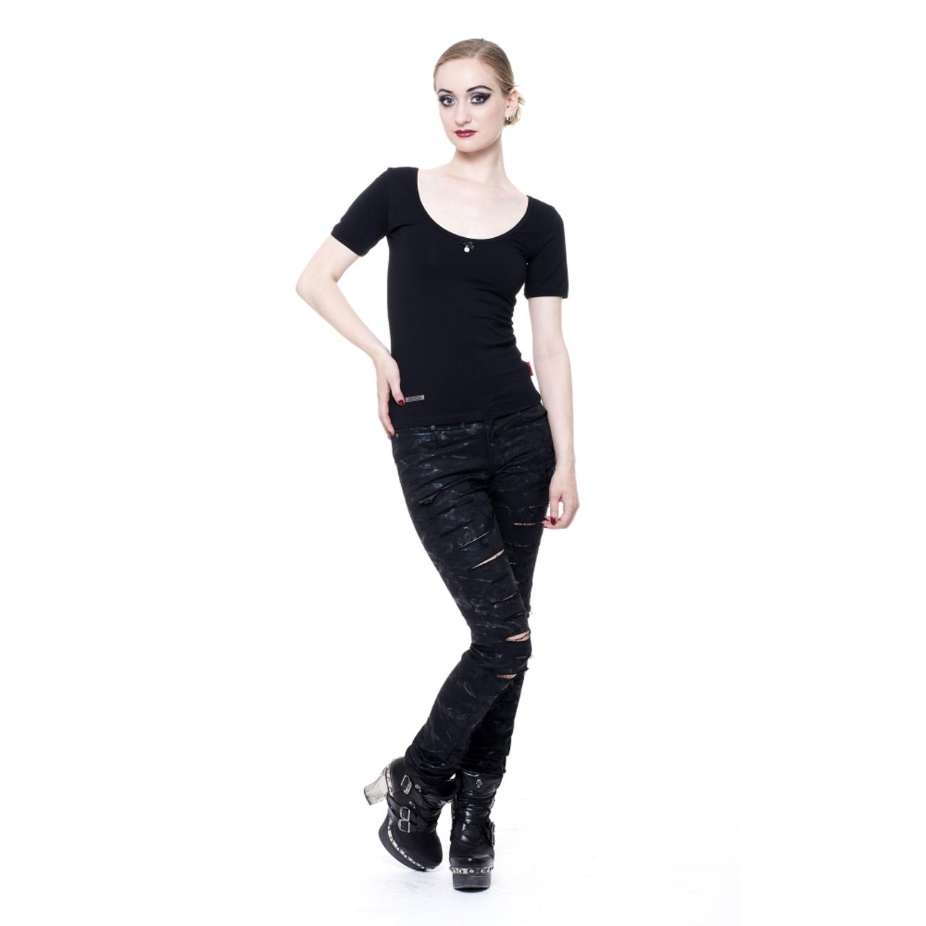 heaven t shirt schlichtes schwarzes damen shirt. Black Bedroom Furniture Sets. Home Design Ideas