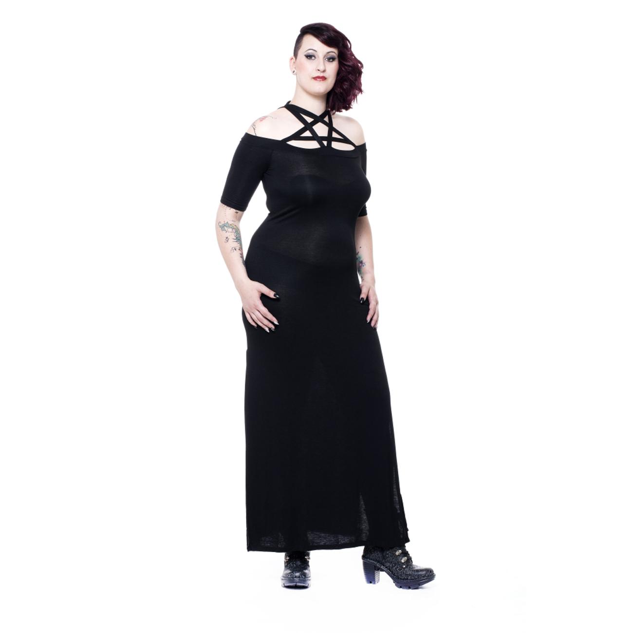 eternity dress langes schwarzes kleid. Black Bedroom Furniture Sets. Home Design Ideas