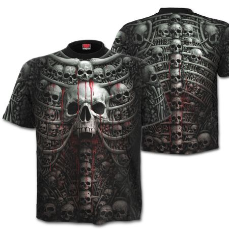 DEATH RIBS: All Over T-Shirt – Bild 1