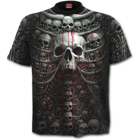 DEATH RIBS: All Over T-Shirt – Bild 2