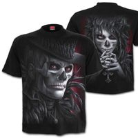 DAY OF THE GOTH: beidseitig bedrucktes Gothic T-Shirt von Spiral Direct