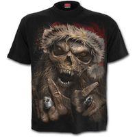 ROCK SANTA: beidseitig bedrucktes T-Shirt – Bild 2