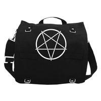 BW Kampftasche schwarz mit exklusivem Print DarXity Pentagramm im Schutzkreis