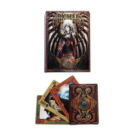 Anne Stokes Bicycle Steampunk Poker Deck