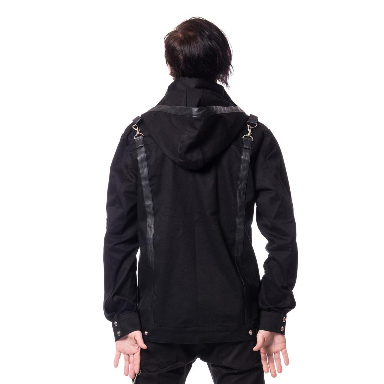 damien jacket mens black schwarze herren jacke. Black Bedroom Furniture Sets. Home Design Ideas