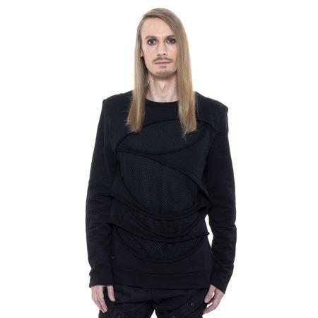 SLICED SWEATER: Herren Langarm Shirt