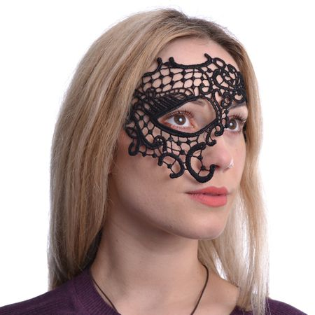 One Eye Lace Mask, Spitzen Maske
