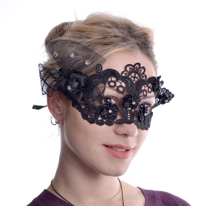 Rose Lace Spitzen Maske