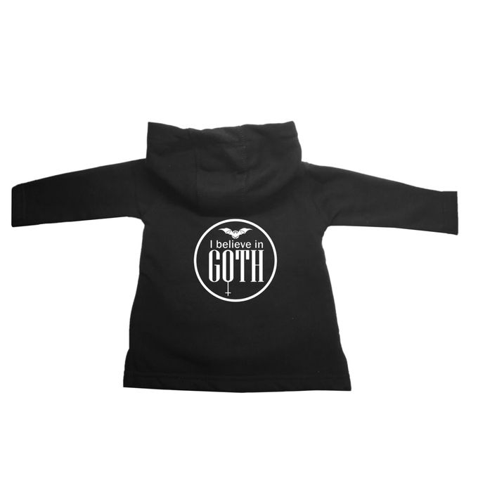 I believe in Goth - Baby of Darkness Gohic Hoodie