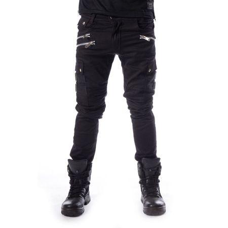 ANDERS PANT: Gothic Hose mit Seitentaschen