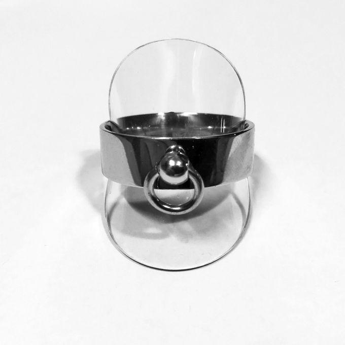 Edelstahlring 5mm, Ring der O