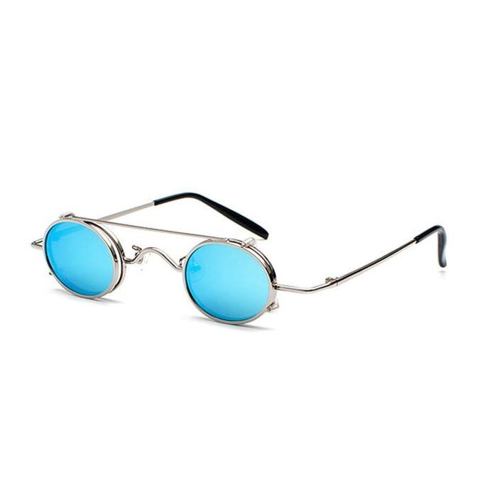 BLUE VAMPIRE: Sonnenbrille mit kleinen blauen Gläsern