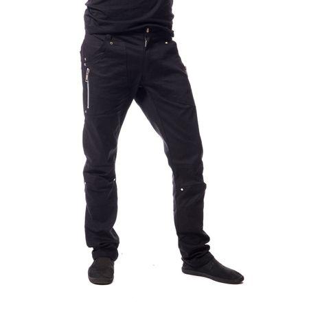DANTE PANTS: Gothic Herren Hose mit Zippern