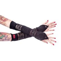 Armwarmers: schwarze Armstulpen – Bild 1