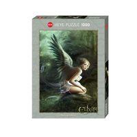 dunkel - romantisches Puzzle mit 1000 Teilen von Mélanie Delon
