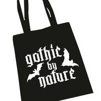 Tragetasche, Gothic by Nature – Bild 1