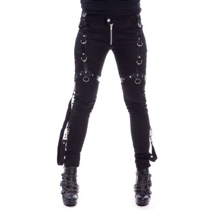 Gothic Damenhosen, Damenshorts und Leggins 02fa4173a3