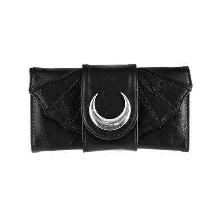 BAT WINGS WALLET: Gothic Geldbörse