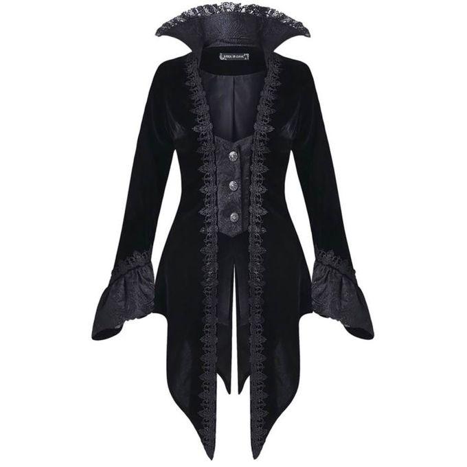 Black Velvet Gothic Jacket