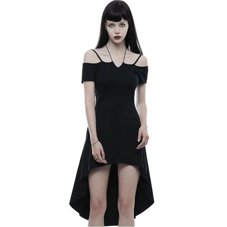 LUNA DRESS: Vokuhila Gothic Kleid