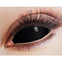 Sclera Black 22mm - große schwarze Kontaktlinsen - Vollschale