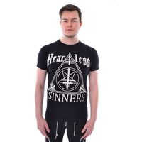 HEARTLESS SINNERZ: Shirt mit Heartless und Sinners Print – Bild 1