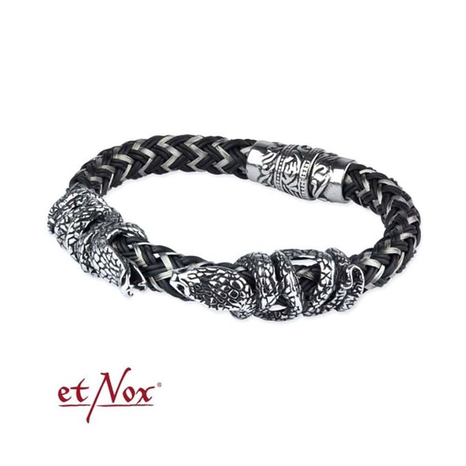COBRA BRACELET: Edelstahl Armband Kobra