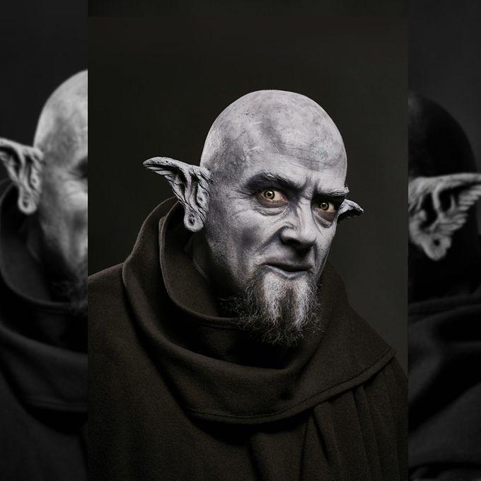 KAZDUL: zwei Ork Ohren für Halloween Outfits