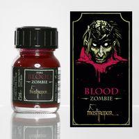 ZOMBIE - Dunkelrotes Zombie Kunstblut für fantastische Spezialeffekte zu Halloween, Fasching und Karneval