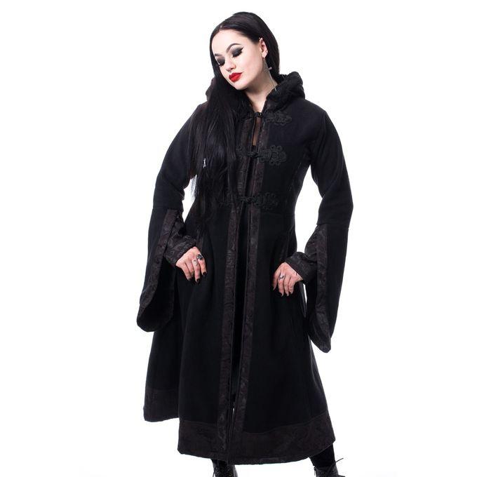 LUELLA COAT - langer Gothic Mantel mit Ornamenten
